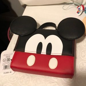 🐭 Disney Store Japan Mickey Mouse Purse 👛